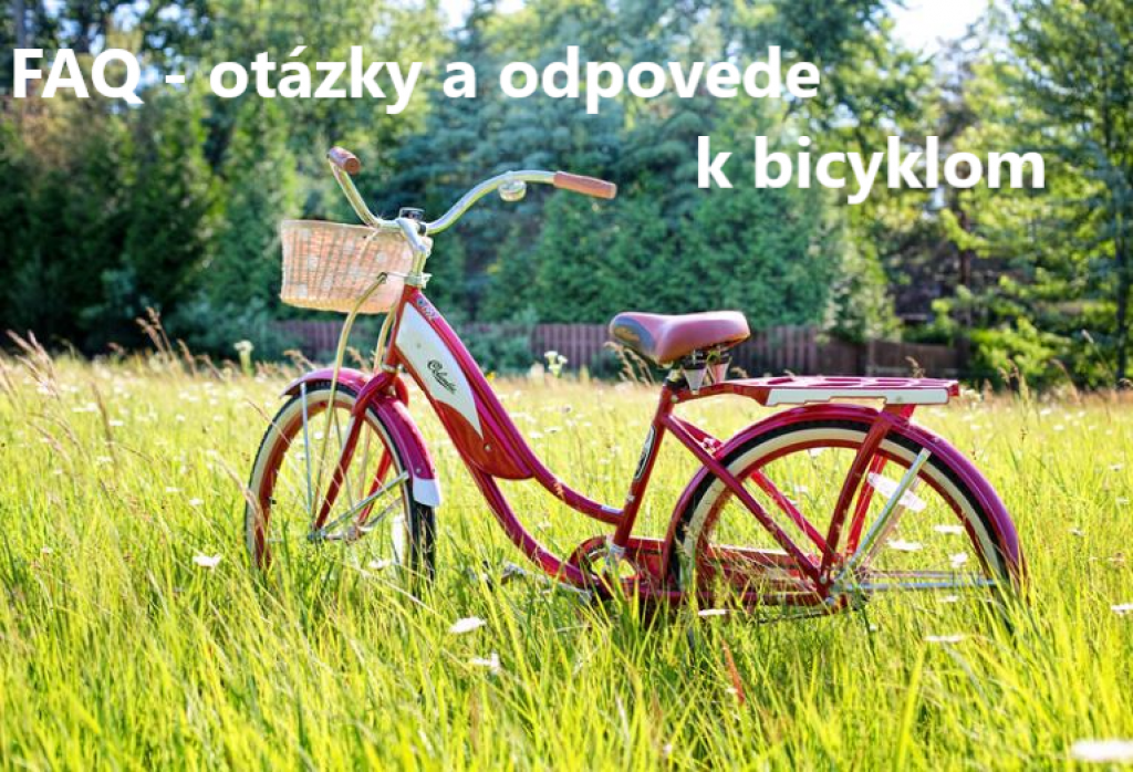FAQ k bicyklom