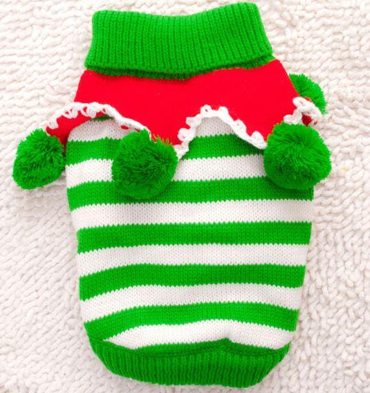 cf625e00a145 (veľkosť L  48 36 cm) Vianočný pletený sveter pre psov VIANOCE empty