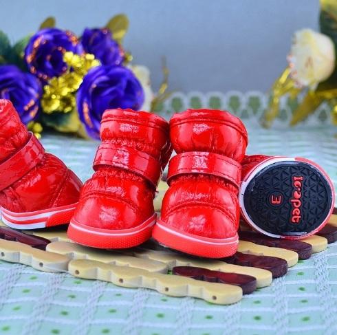 lovely červené zateplené čižmy L 0dfaa3f2581