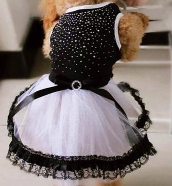 bee5078c6e23 (veľkosť S  30 30 cm) Šaty Mandy pre fenky